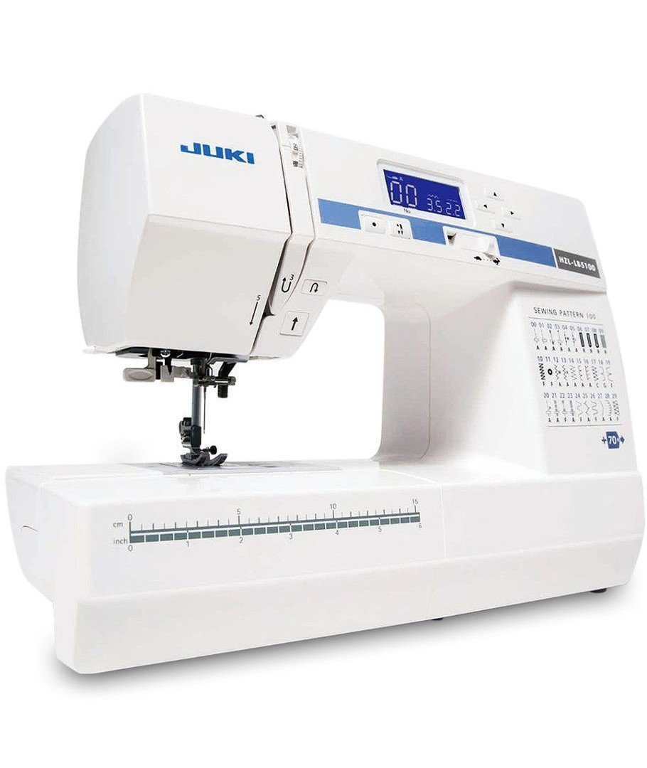 Juki Hzl Lb 5100 Computer Sewing Machine 100 Programmes Thread Furthermore White Manual Also Patchen Quilting Kitchen Home