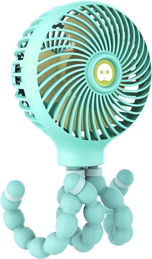 Mini Ventilador de Mano para Cochecito, Ventilador portátil para ...
