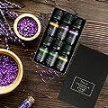 ESSLUX Essential Oils Set, Top 6 Aromatherapy Oil for Diffuser