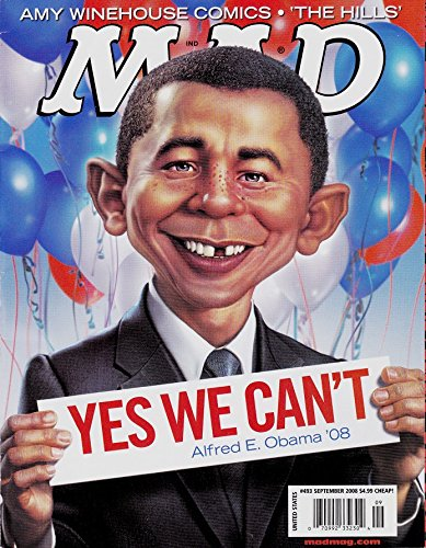 Mad Magazine Issue # 493 September 2008