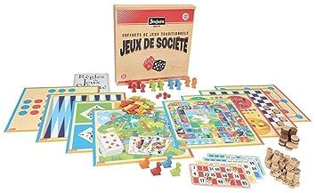 JeuJura - 8128 - Coffret de Jeu de Société Traditionnel - Bois ... 929fc355e333