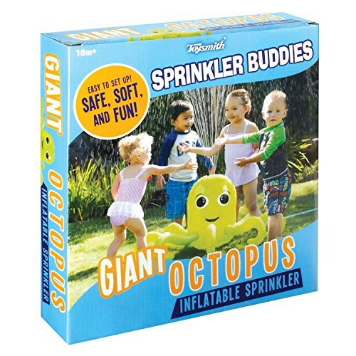 Sprinkler Buddies Octopus Inflatable Toysmith