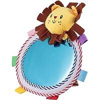 NUOBESTY Tummy Time Newborns Floor Mirror Developmental Baby Toy Great