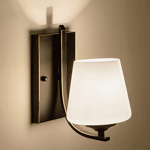 Wddwarmhome Wall Fitting Bracket Light Wall Lamp Iron Wall Lamp - Light fitting for bedroom
