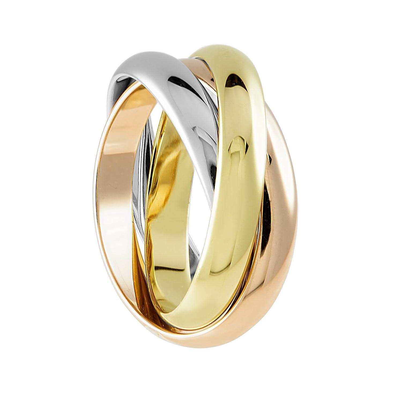 Bella Donna Damen Ring 585 Gelbgold Ros¨gold Weißgold Amazon