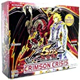 Yugioh 5D's Crimson Crisis 1st Edition Booster Box (24 packs) - In Stock!