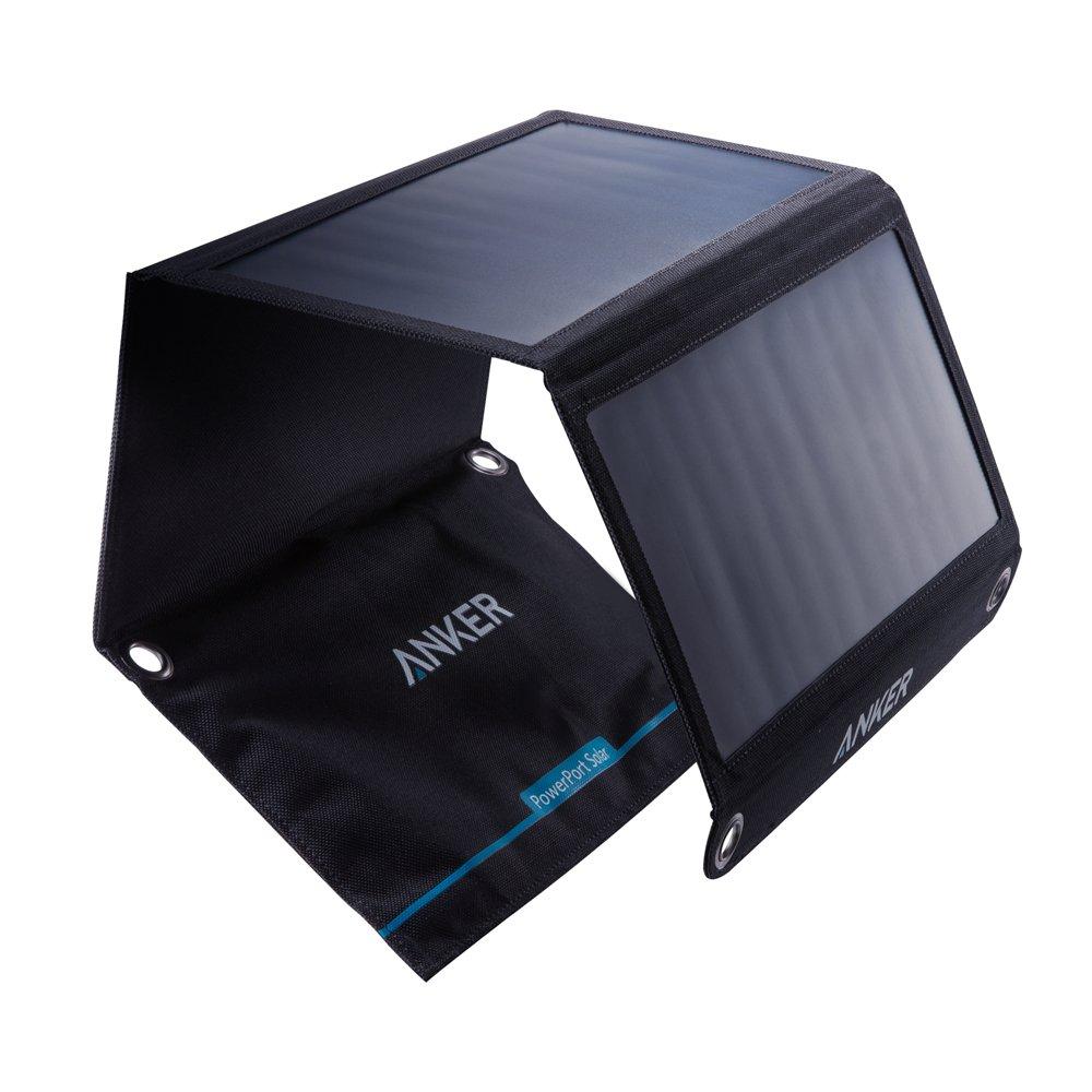 Cargador Solar Portatil De 21 Watts De Salida Anker