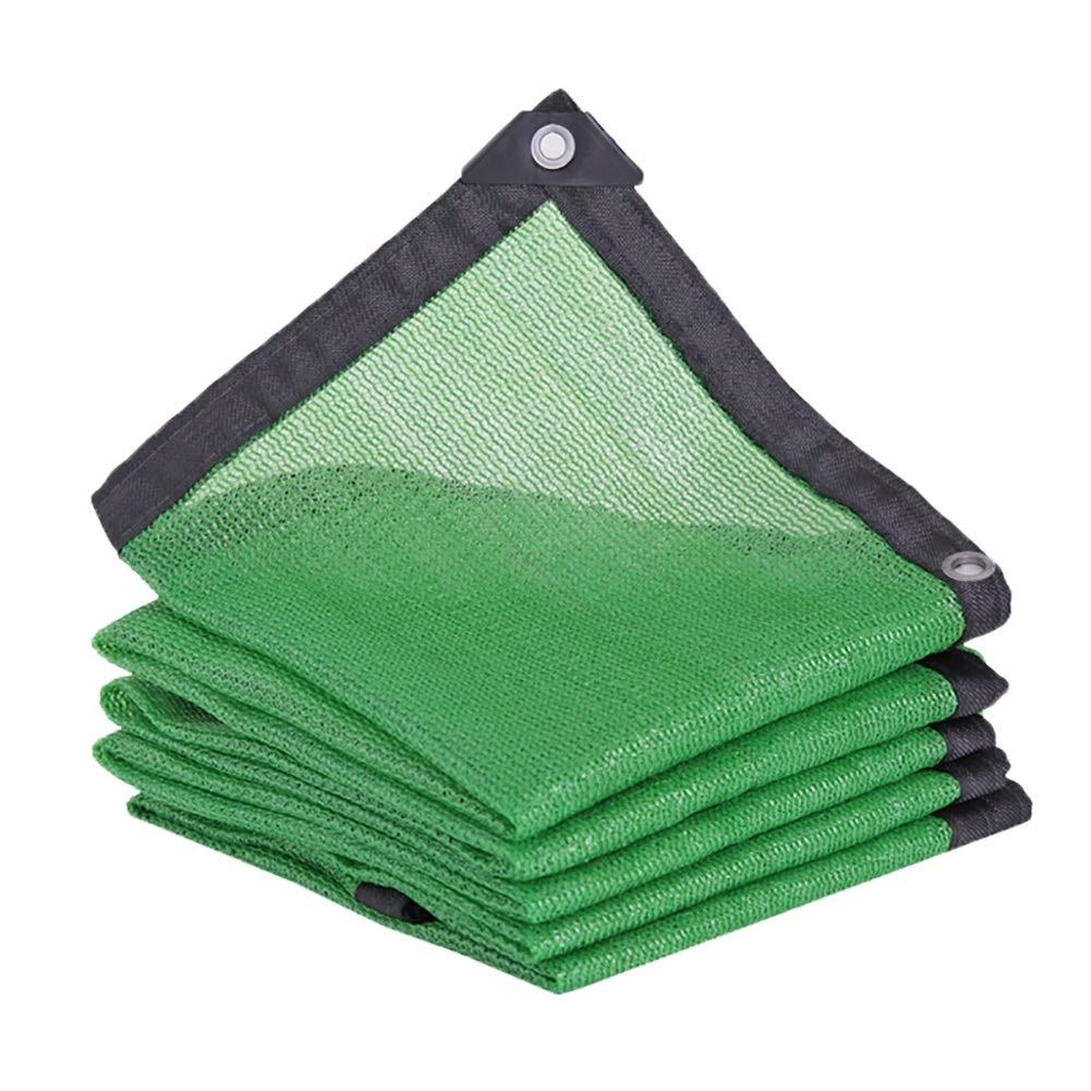 緑のパティオ日焼け止めシェード布、グロメット付きグリーンバルクUV耐性ファブリックメッシュタープ、95%シェーディング率 (Size : 8mx10m) B07SLJP7SC  8mx10m