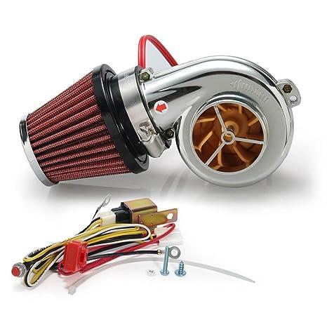 Epman Tk-Aw20Wmini Mini Eléctrico Turbo Supercharger Kit de Filtro de Aire de Admisi&