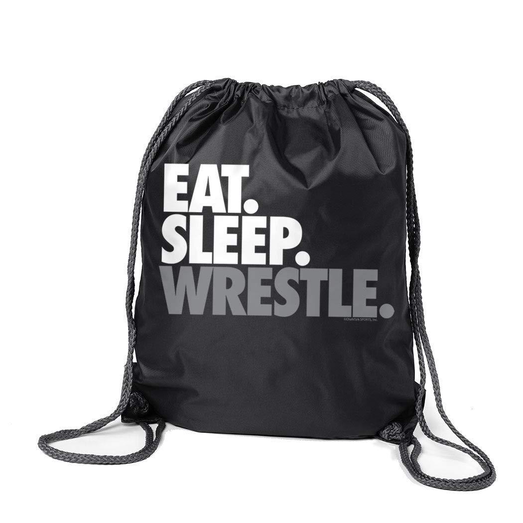 【全品送料無料】 Eat Sleep Wrestle (区点) シンチサック シンチサック | Eat ChalkTalkSPORTS Wrestle レスリングバッグ B00VAIAJMK ブラック ブラック, CROCUS:43d0e6ef --- fenixevent.ee