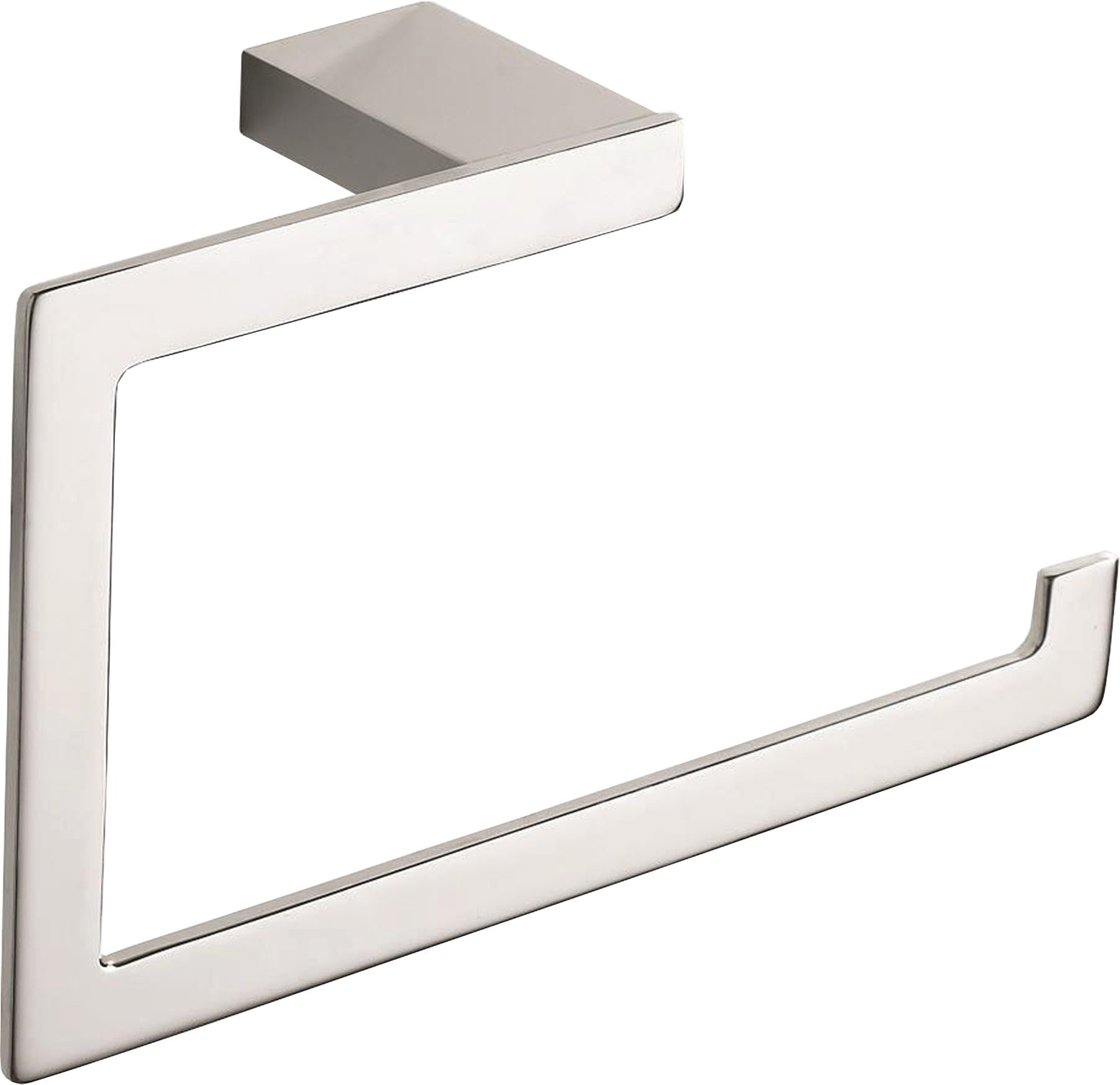 Atlas Homewares PATR-CH  Parker Towel Ring, Polished Chrome