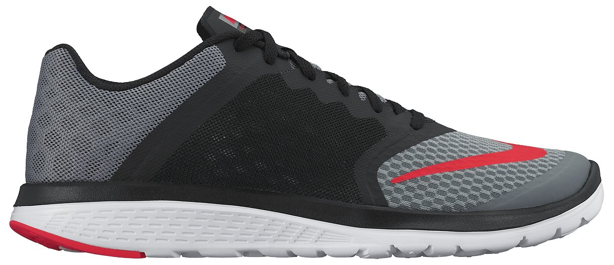 09ab939d9ad Galleon - Nike Men s FS Lite Run 3 Running Shoe Cool Grey Black White Bright  Crimson Size 10.5 M US