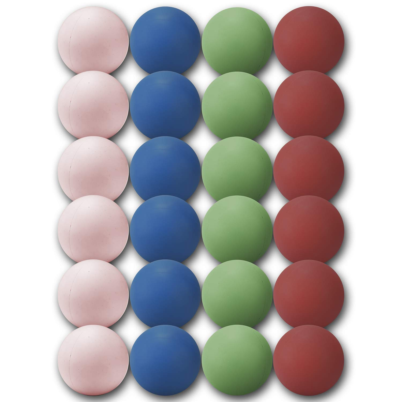 ラクロスマッサージボール 12個パック B07KRPZ13W 24 Pack Pack Multicolored 24 24 12個パック Pack Multicolored, 加悦町:8c512919 --- zonespirits.xyz