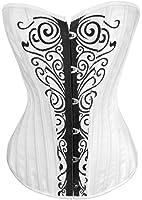exclusifs blancs anges des femmes aimerfeel- transportant sauvage impression corset M (36-38)