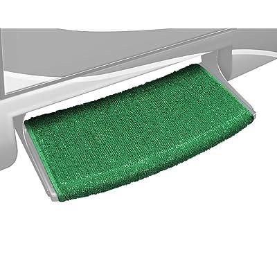 "Prest-O-Fit 2-0200 Wraparound+Plus Radius Step Rug, 22"" - Green: Automotive"