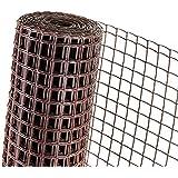 Absperrzaun Warnzaun HaGa® Zaun reflektierend 0,9m Höhe Meterware 50mm Masche
