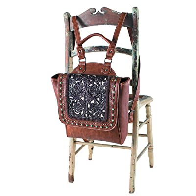 well-wreapped Trinity Ranch Tooled Backpack
