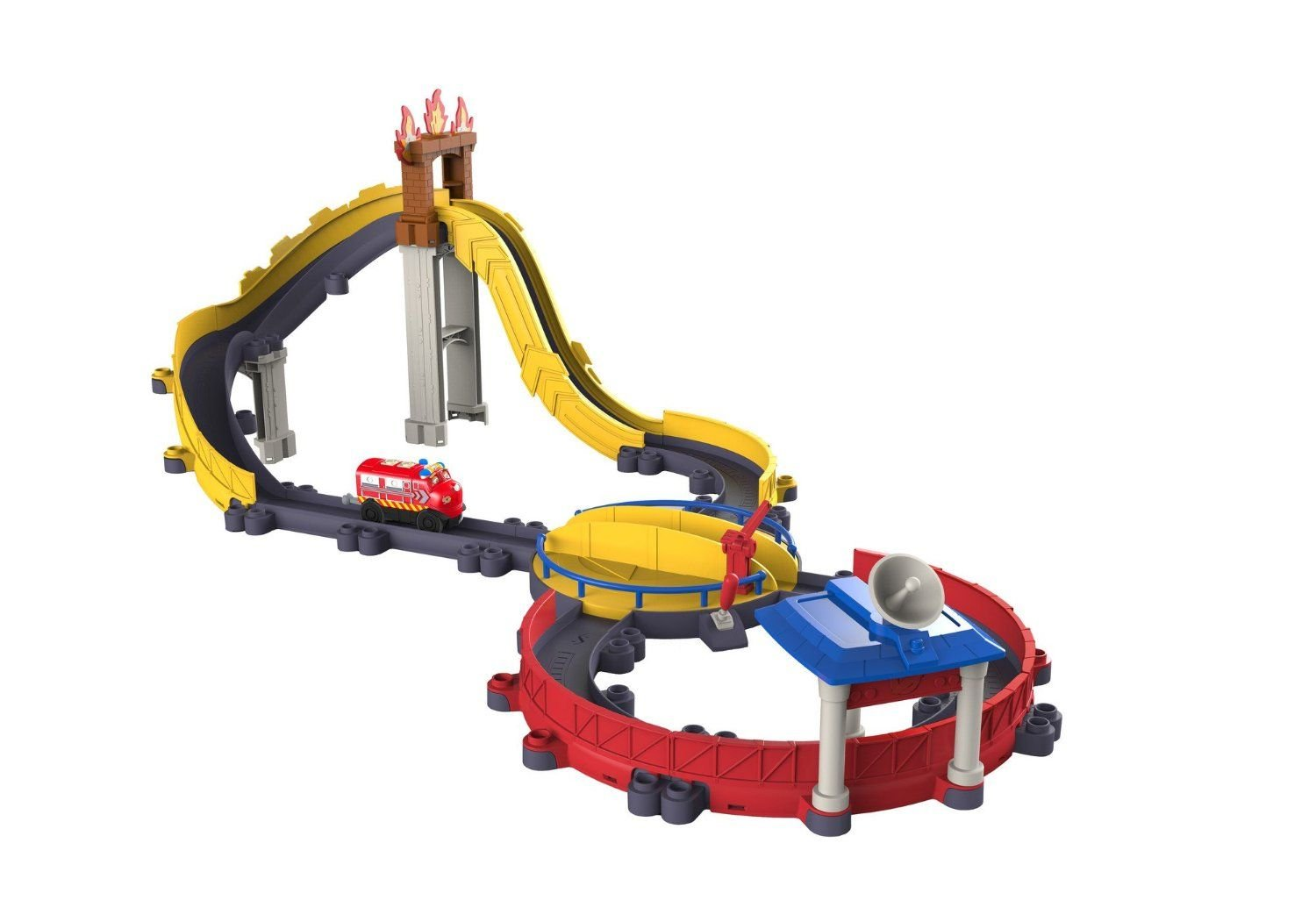 Chuggington StackTrack Motorized High Speed Rescue by TOMY (Image #1)