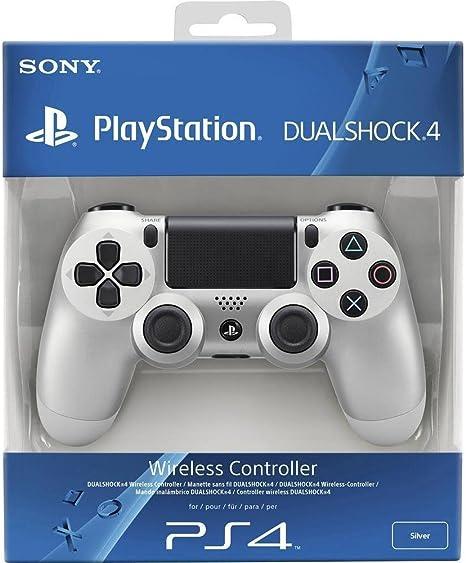 Sony - Mando Dual Shock 4, Color Plata (PlayStation 4): Amazon.es ...