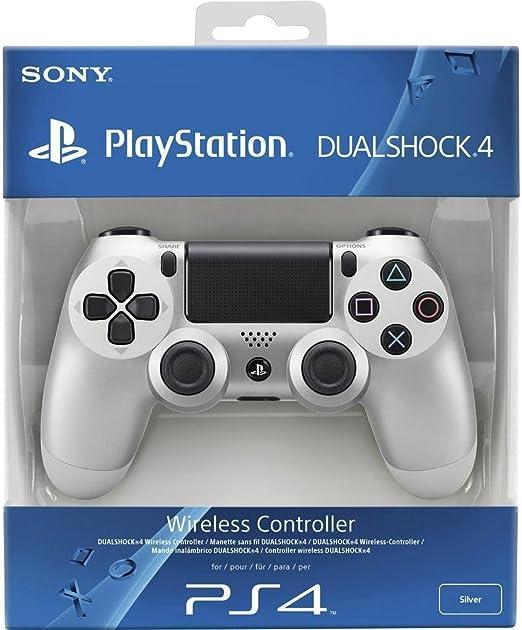 Sony - Mando Dual Shock 4, Color Plata (PlayStation 4): Amazon.es: Videojuegos