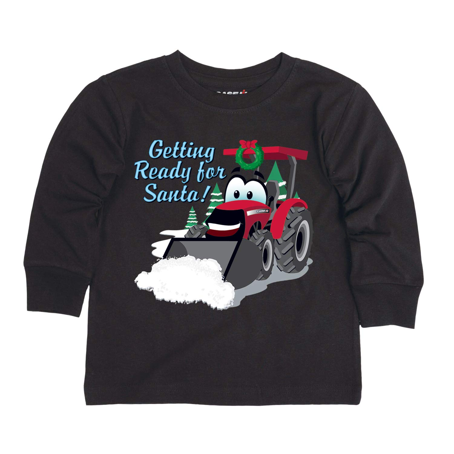 CASE IH Toddler Long Sleeve Tee Getting Ready