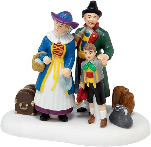2.75 Department 56 Alpine Village Accessories Family Outing Figurine Multicolor