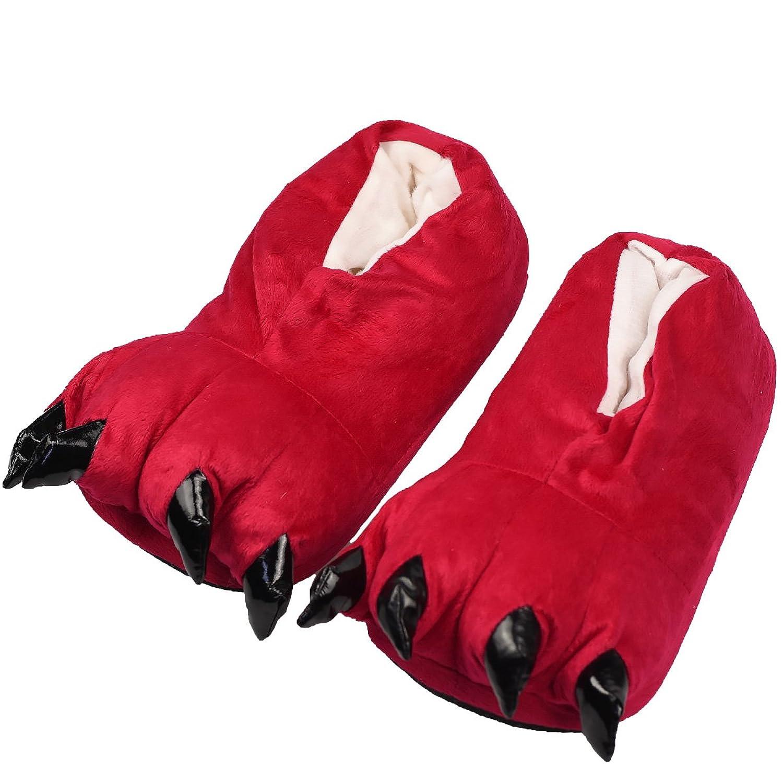 Zapatillas de Garra Unicornio Unicorn Peluche – Zapatos de pantuflas – divertido