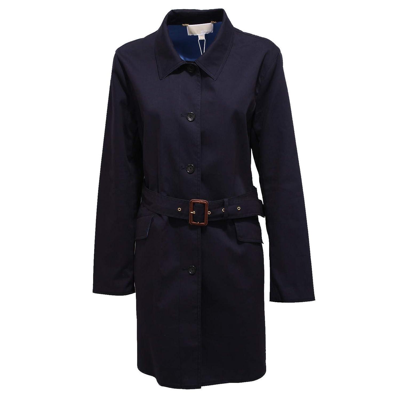 7797X Trench Donna Michael MICHAEL KORS Blue Jacket Cotton Woman [XL]: Amazon.es: Ropa y accesorios