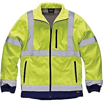 Dickies SA2007 - Hi-vs alta visibilidad softshell chaqueta ...