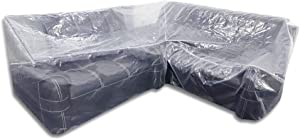 QEES 100% Waterproof V-Shaped Sectional Sofa Cover 104