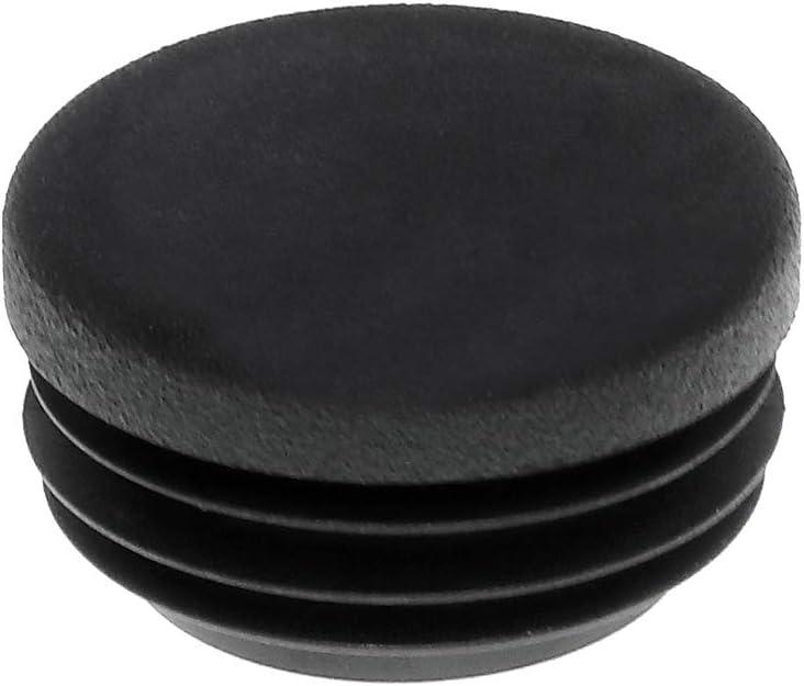 Kunststoff Lamellenstopfen Abdeckkappe 1 St/ück Rundstopfen 45 mm Schwarz