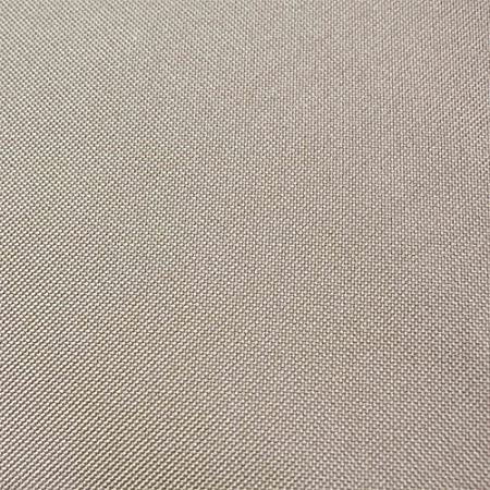 Beige TK Classics Barbados//Laguna Curved Armless Sofa Outdoor Protective Cover
