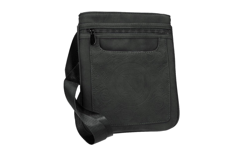 Shoulder belt man SSC NAPOLI Official product black bag VF476