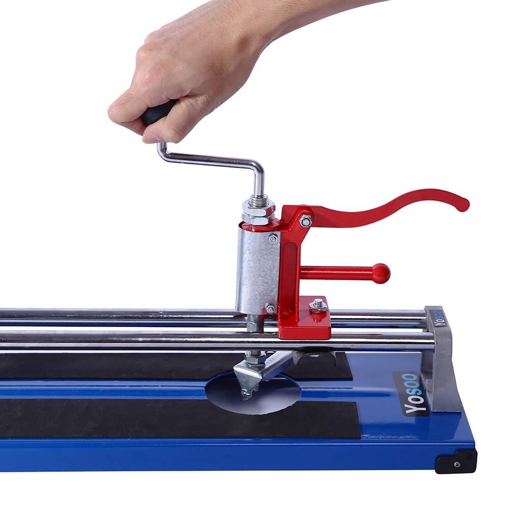 Tagliapiastrelle manuale 600 mm Tagliapiastrelle manuale 3 in 1multifunzione Taglio Piastrelle Tagliatrice Ceramica Parete per Pavimenti Porcellana attrezzo per il fai da te