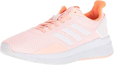 adidasDB1307 - Questar Ride para mujer Para mujer , Rosado (Haze Coral/White/Hi-res Orange), 9.5 B(M) US: Amazon.es: Zapatos y complementos