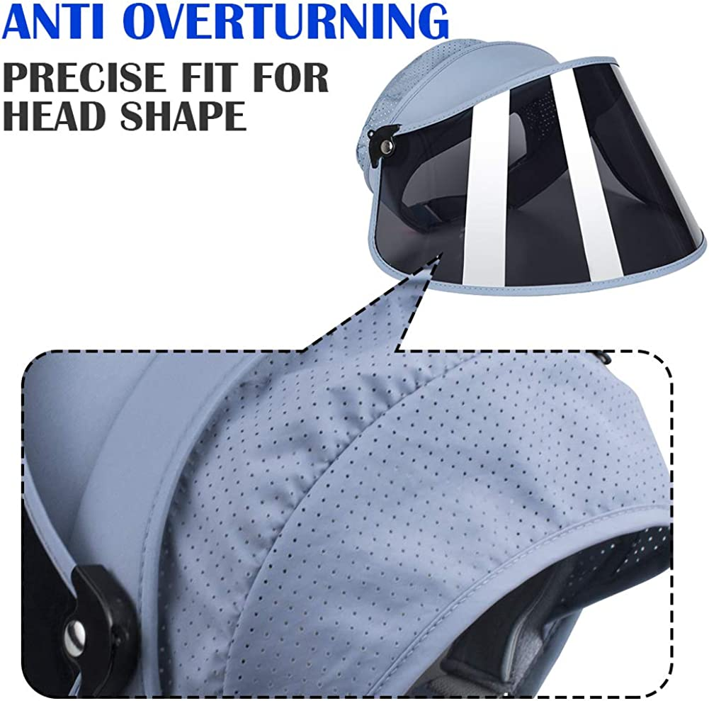 Sun Cap UV Protection Hat for Men Women WAYCOM Sports Sun Visor,Sun Hat UPF 50