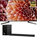 Sony 65-Inch 4K Ultra HD Smart LED TV 2018 Model (XBR65X900F) with Sony 3.1ch Soundbar with Dolby Atmos