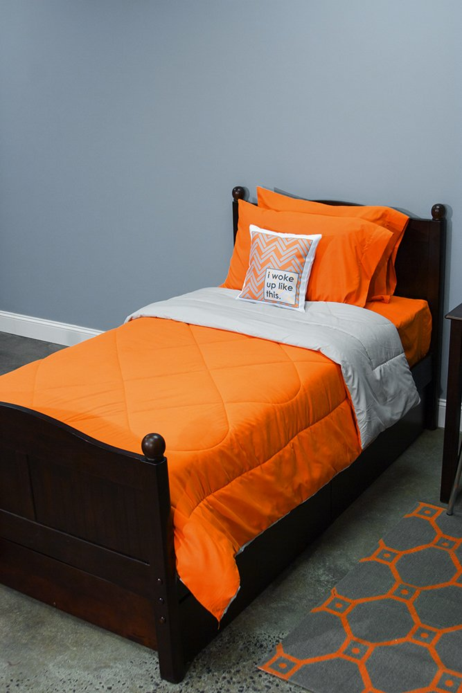 Bed In A Bag Twin Orange
