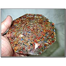 Mix Gemstone Orgone Octagon Vastu Plate Energy Generator Crystal Gemstones Unique Rare Science Construction Vedic Astrology Wealth Health Cosmic Intelligence Five Elements Copper Metal Mix Rare Healing Positive Energy Tetrahedron Sacred Feng Shui Geometry Memory Concentration Meditation Spiritual Psychic Piezo Electric Effect Business Prosperity Success Destress Anxiety Disorder Love Power Mental Peace Strength Divine X-mas Mother's Day Father's Day Thanks Giving Birthday Anniversary Thinking of You Sorry Hug Get Well Soon Husband Wife Grand Father Children Pregnant Ladies New Born Babies Memory Motivation Inspiration Dream Reality Imagination Pagan Wicca Om Mantra Holy Pious Auspicious India Asia Negative Ion Enhancer Electromagnetic Waves Positive Frequency Valentine Celebration Event Function Office Opening Altar Worship Idol God Lord Sir Students Concentration