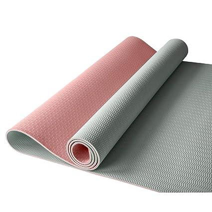 Amazon.com : Yoga Mat, 1/4 inch Pro Yoga Mat TPE Eco ...