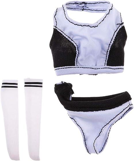 1//6 Scale Lingerie Underwear Bikini for 12/'/' Hot Toys//Phicen//Kumik Figures