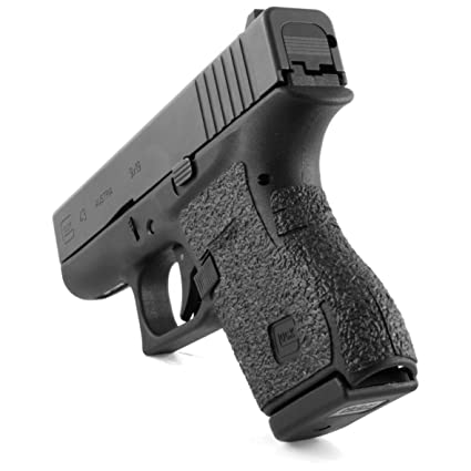 Amazon Com Talon Grips For Glock 43 Black Rubber Black Rubber