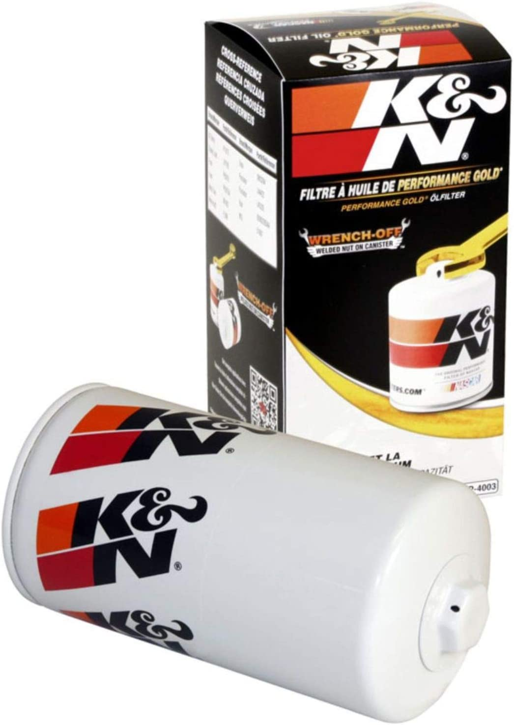 K&N Premium Oil Filter: Designed to Protect your Engine: Fits Select 1989-2019 RAM/DODGE/STERLING (Ram, 2500, 3500, 4000, 4500, 5500, D250, D350, W250, W350, Bullet 45, Bullet 55), HP-4003
