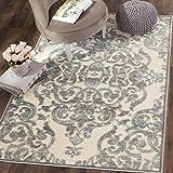 "Safavieh PAR348-2740-8 Paradise Collection Grey & Multi Viscose Area Rug, 8' x 11'2"""