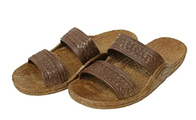 705f3519d Image Unavailable. Image not available for. Color  Pali Hawaii Unisex Adult  Classic Jandals Sandals (7 B(M) US ...