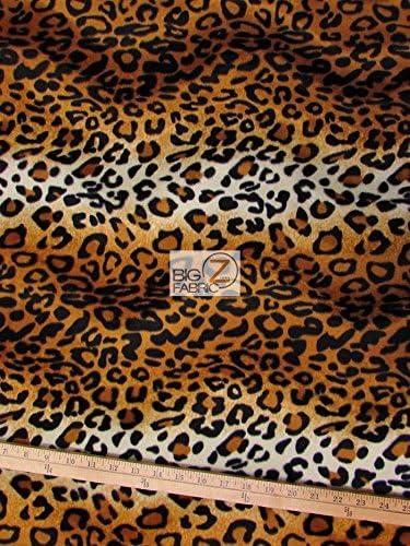 Animales Divertidos de piel sintética de material de tela-Leopardo