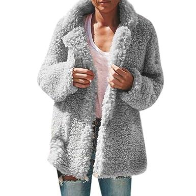 Mymyguoe Winter Autumn Abrigo Para Mujer Jacket Cardigan Blazer De Mujer Top De Manga Larga Chaqueta De Traje Casual Ropa De Oficina Para Mujer Blusa Abrigo Americana Tallas Grandes Outwear Amazon Es Ropa