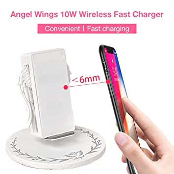 Blossomer-electron Angel Wing - Cargador inalámbrico para iPhone ...