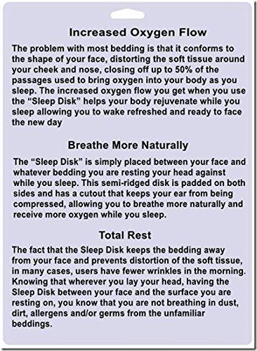 Sleep Disk Hypoallergenic Sleep aid