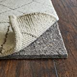 """Rug Pad Central, 3/8"""" Thick, 10x16 Feet Rectangle, Cushioned Felt and Reinforced Natural Rubber, Anchor Grip 30"""